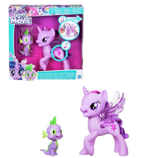 MLP My Little Pony Princess Twilight Sparkle & Spike the Dragon Friendship Duet